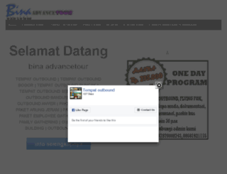 tempatoutboundmurah.com screenshot