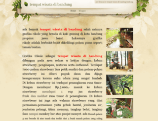 tempatwisatadibandung.weebly.com screenshot