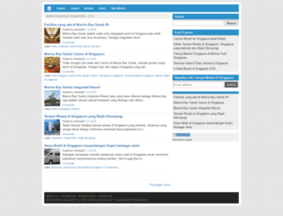 tempatwisatadisingapore2.blogspot.com screenshot