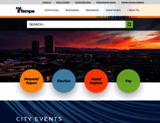 tempe.gov screenshot