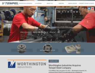 tempel.com screenshot