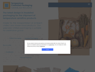 temperature-controlled-packaging.co.uk screenshot