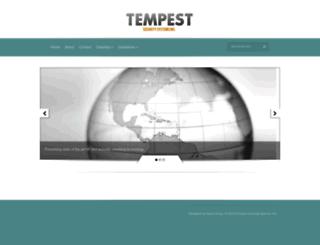 tempestusa.com screenshot