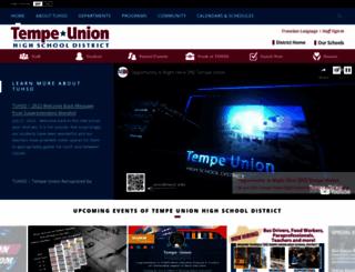 tempeunion.org screenshot