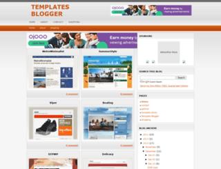 template-blogger1.blogspot.com screenshot