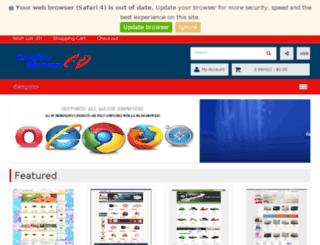 template-opencart.com screenshot