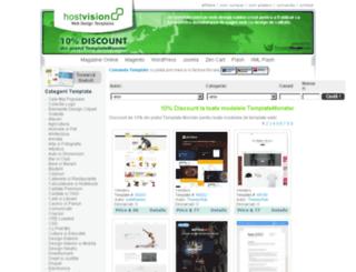 template.hostvision.ro screenshot