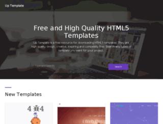 template.upplanet.com screenshot