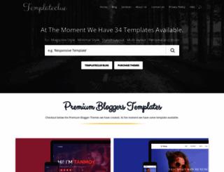 templateclue.com screenshot