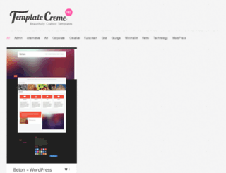 templatecreme.com screenshot