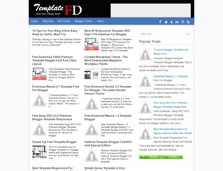 templatefd.blogspot.co.id screenshot