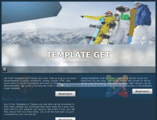 templateget.net screenshot