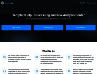 templatehelp.com screenshot