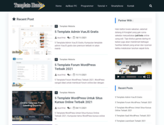 templatehunter.com screenshot