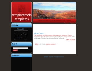 templatemela.sosblogs.com screenshot
