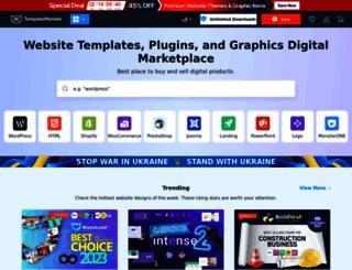 templatemonster.com screenshot