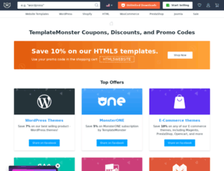 templatemonstercoupon.com screenshot