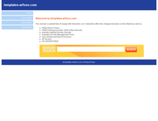 templates-arfooo.com screenshot
