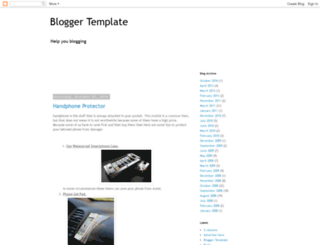 templates-gallery.blogspot.com screenshot