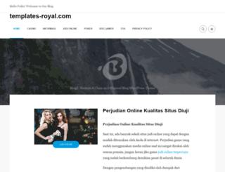 templates-royal.com screenshot