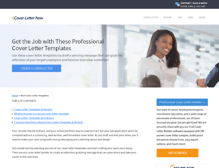Access Templatescover Letter Now Get The Job With Free Professional Cover Templates
