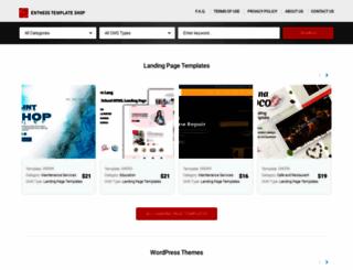 templates.entheosweb.com screenshot