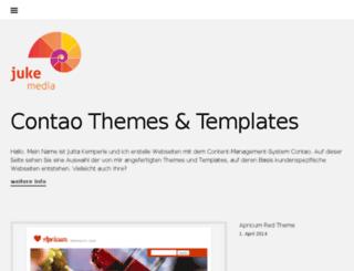 templates.jukemedia.de screenshot