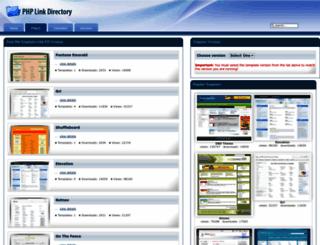 templates.phplinkdirectory.com screenshot