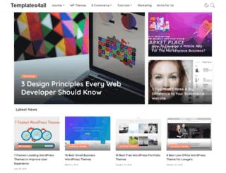 templates4all.com screenshot