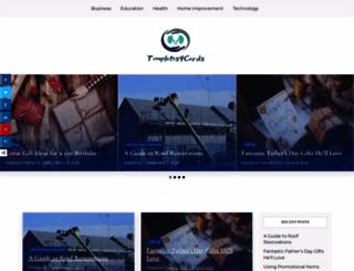 templates4cards.com screenshot