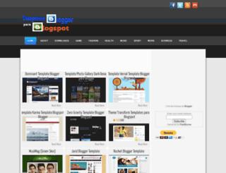 templatesbloggerpara.blogspot.pt screenshot