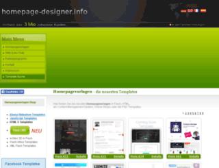templatesfree.de screenshot