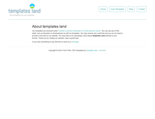 templatesland.com screenshot