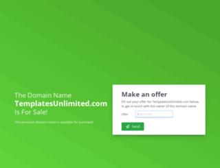 templatesunlimited.com screenshot