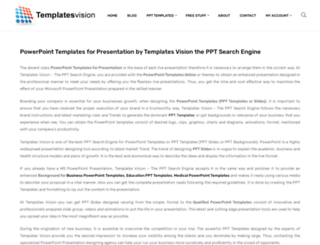 templatesvision.com screenshot