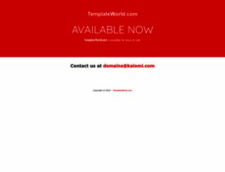 templateworld.com screenshot