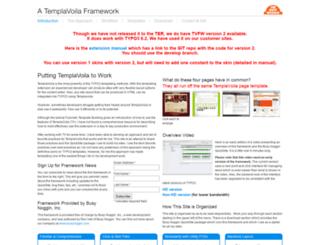 templavoila.busynoggin.com screenshot