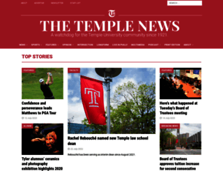 temple-news.com screenshot