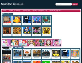 temple-run-online.com screenshot