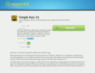 temple-run-oz.apportal.co screenshot