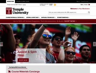 temple.bncollege.com screenshot
