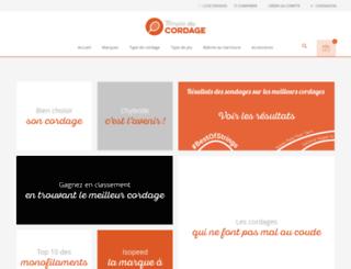templeducordage.com screenshot