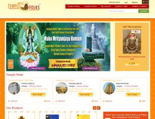 templefolks.com screenshot