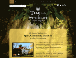 templeofwitchcraft.org screenshot