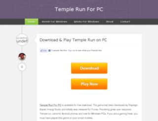 templerunforpc.me screenshot