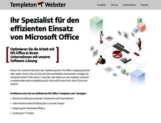 templeton-webster.com screenshot