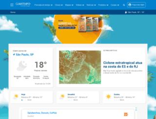 tempo.terra.com.br screenshot