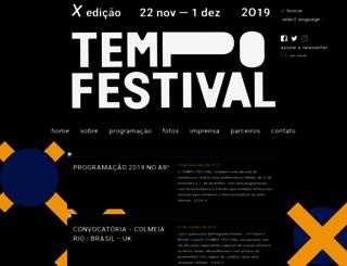 tempofestival.com.br screenshot