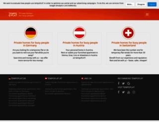 tempoflat.com screenshot