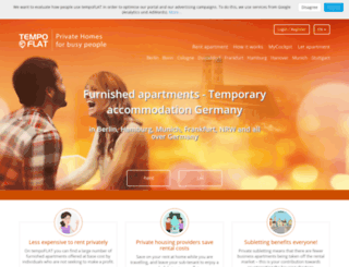 tempoflat.de screenshot